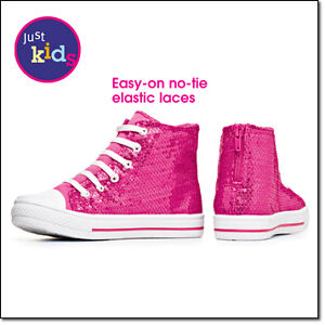 pink sequin high top sneakers tennis shoes
