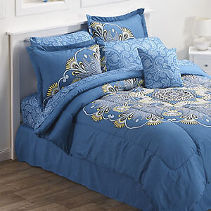Charlotte Bed 8pc Queen Set, New