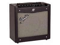 Fender Mustang I 20W Modelling Guitar Amplifier. Loud! 17 amp models. 24 effects. USB connection.