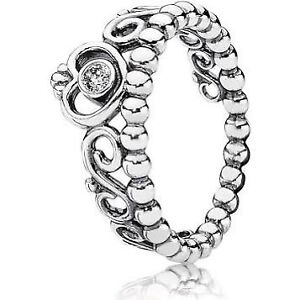 PANDORA My Princess Tiara Ring Clear Cz
