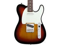 Classic Vibe Telecaster Custom, Electric Guitar, 3 Colour Sunburst.
