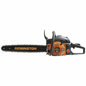 "Remington 18"" Gas Chainsaw, New"