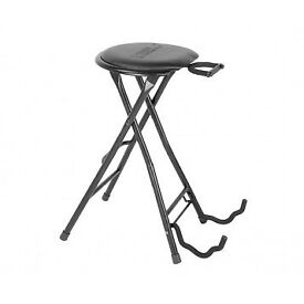 Kinsman Guitarists Dual Stool, Combo Stand and Stool