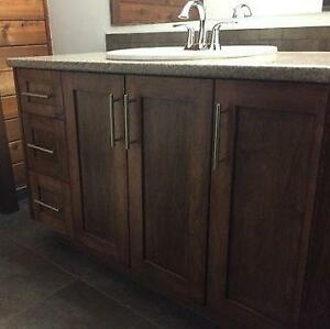 "New - 3 Door,3 Drawer Sink Vanity Only - 48"" in 6 colors"