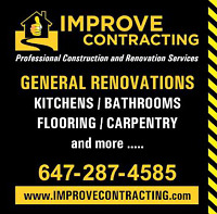General Renovations and Handyman services !!!!