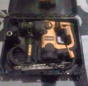 De-Walt   Impact drill with case ($200) or best offer