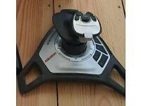 For sale is a Saitek joystick.