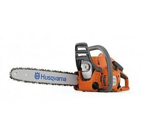 Brand new Husqvarna Petrol Chain saw
