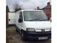 Peugeot Boxer Van SWB for Sale