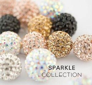 LOOKING FOR HILLBERG & BERK SPARKLE BALL EARRINGS/ NECKLACES