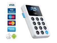 Izettle card machine contactless