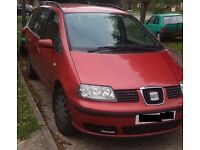 SEAT Alhambra - MPV - Manual 6 speed - 1.9 TDI PD S 5dr (7 seat)