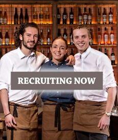 Waiters & Bar Staff - Start ASAP - Quality French Brasserie - Ruislip