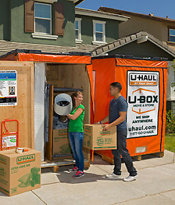 U-Box Portable Moving, Storage and Shipping Containers