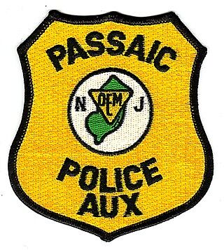 PASSAIC, NEW JERSEY POLICE AUXILIARY PATCH