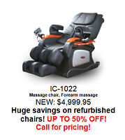 iComfort Massage Chair SPECIAL iC1022 *ONE LEFT IN STOCK*