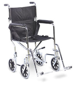 Transport Wheel Chair or Portable Wheelchair - BRAND NEW IN BOX!