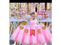baby girl 1st Birthday devorations new