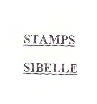 STAMPS SIBELLE 14