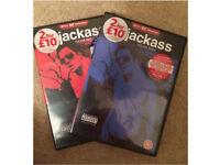 Jackass DVD's