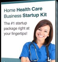 Home Care Business Start Up Guide, Plan, Forms & Templates