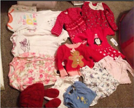 3-6 months girls clothes bundle 13 itema