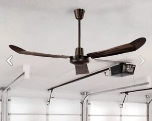 "56"" Canarm Industrial Ceiling Fan Brown"