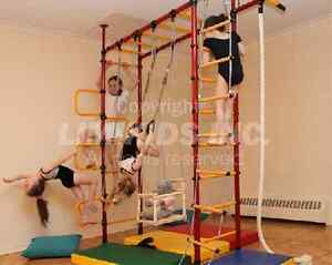 LIMIKIDS - Indoor Home Gym for Kids - Model Pegasus 4.XX