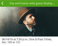 City and Color/Shakey Graves