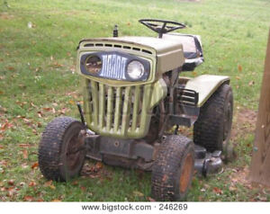 Wanted lawn tractors working or not.