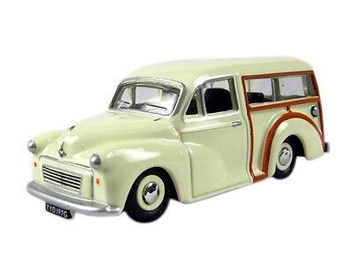 Morris Traveller OO 1:76 Scale Old English White 76MMT001 Oxford Die-cast UK