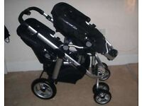 icandy pram tandem double buggy
