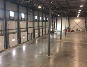 Shared warehouse / cross-docking / receiving / storage