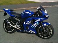 2003 Yamaha R6 Rossi rep
