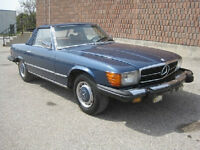 Mercedes 450SL convertible with hard top low miles