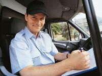 Delivery man needed/Taxi man needed/Full time/Parts time