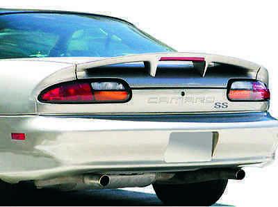 JSP Rear Wing Spoiler 1993-2002 Chevrolet Camaro SS Primed OE Style w/LED 339043 97 Chevrolet Camaro Fiberglass