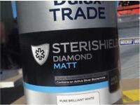 Dulux Trade Sterishield Pure Brillant White 5L