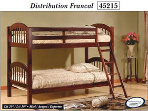 Lit superposé neuf/ new Bunk Bed en liquidation a partir de 249