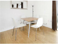 Small dining table + 4 chairs
