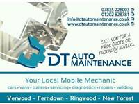 Mobile mechanic & welding repairs