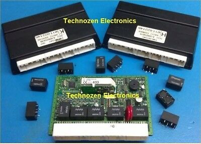 5 x Replacement Relay for MG Rover Pektron SCU/BCU - Also LDV - Pektron 0662P04A