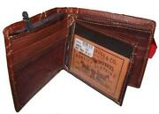Mens Leather Wallet Levis