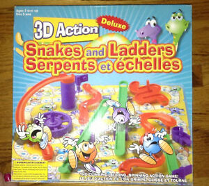 3D snakes and ladders game for sale London Ontario image 1