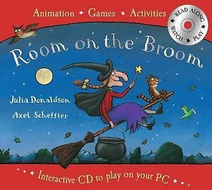 Room-on-the-Broom-Book-and-Interactive-CD-New-Book