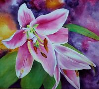 Painting Glorious Garden Florals with Anita Wood