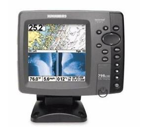 Sonar Humminbird 798ci HD Si Side imaging GPS  carte Navionics