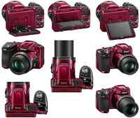 Nikon CoolPix L830,34X Zoom,RED- Must go asap*