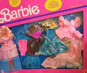 BARBIE DOLL 734 MATTEL 2 6 PACK FASHIONS 12 FASHIONS NEW IN BOX