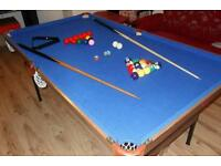 6 Ft Pool Table
